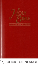 Holy Bible KJV HC Red