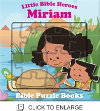 Little Bible Heroes - MIRIAM