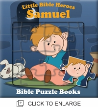Little Bible Heroes - SAMUEL