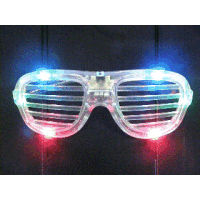 LED ROCKSTAR GLASSES (Choose Colour)