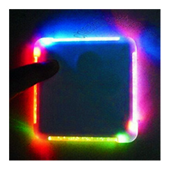 LIGHT-UP COASTER: 2-PACK