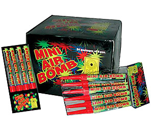 MINI AIR BOMB: BOX OF 72