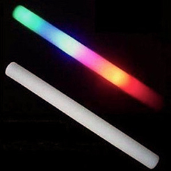 PREMIUM LED FOAM STICK: BULK PACK OF 25- BLOWOUT!