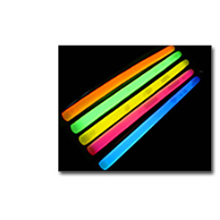 """15"""" GLOW STICK: MULTICOLOUR PACK OF 4"""