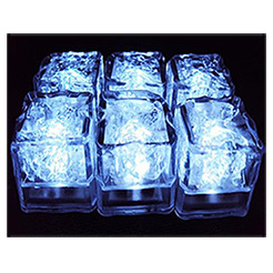 LED ICE CUBES: 12-PACK- 50% OFF BLOWOUT!