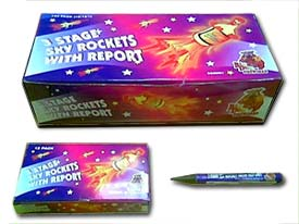 SKYROCKET 3 - BOX OF 144