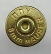 8 MM Mauser Once Fired Brass 250 count