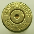 243 Win Once Fired Brass 250 count