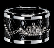 Garson Luxury Drink Holder Type Crown Silver