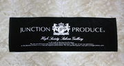 Junction Produce Black Sports Towel