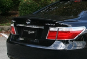 Junction Produce Sports Rear Wing 3pc Lexus LS460 07+