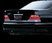 Junction Produce Ares Rear Wing 3pc Mercedes S-Class W140