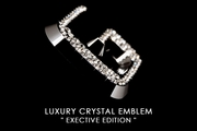 Garson Executive Crystal Emblems (A-Z 0-9)