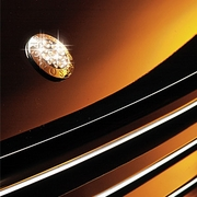 Garson Luxury Crystal Hood Emblem