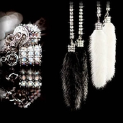 Garson Luxury Hanging Mink Chain