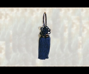 Junction Produce Fusa Kiku Knot Medium (Navy Blue) *SALE*