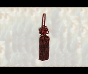 Junction Produce Fusa Kiku Knot Medium (Burgundy) *SALE*