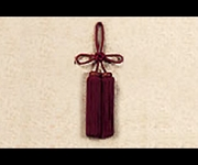 Junction Produce Fusa Agemaki Knot (Burgundy)
