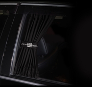 Junction Produce Luxury Curtains Black (Small) *SALE*