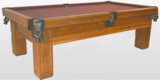 Golden West Delmar Pool Table