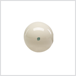 Aramith 2 1/4 Magnetic Cue Ball with Green Logo Cast Phenolic
