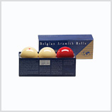 Aramith Carom Super Deluxe Set of 61.5 mm Balls