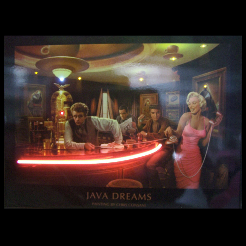 Java Dreams Neonled Picture