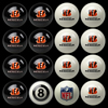 Cincinnati Bengals Pool Balls, Billiard Balls
