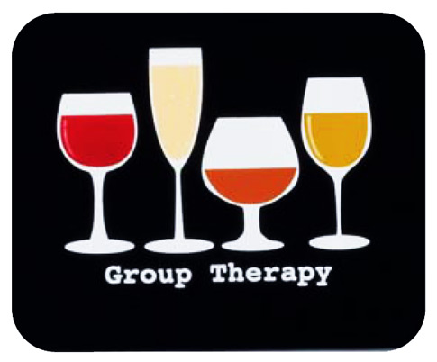 Group Therapy Mouse Pad