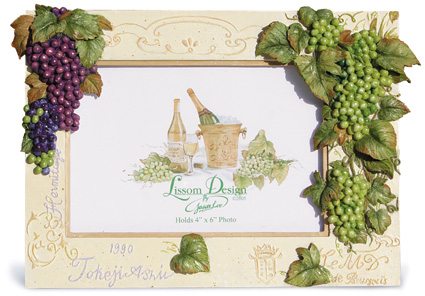 Grapes Large Picture Frame