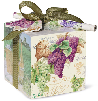 Grapes Paper Block Set with Pencil