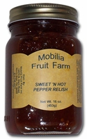Mobilia Fruit Farms Sweet & Hot Pepper Relish