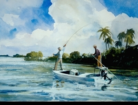 RENESON:  BAHAMA BONEFISH</a><br><b>- SOLD</b>
