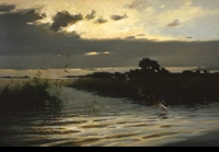 SCHATZ:  MORNING IN THE MARSH</a><br><b>- SOLD</b>
