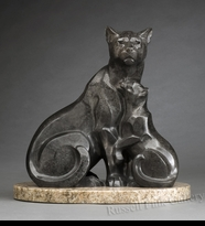 PANTHER:  PANTHER'S PRIDE - <i>Maquette</i>