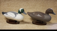 MITCHELL:  BUFFLEHEAD PAIR</a><br><b>- SOLD</b>