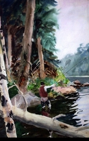 WHORF: FISHERMAN CASTING</a><br><b>- SOLD</b>