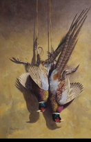 "CARLSON: STILL-LIFE PHEASANT PAIR</a><br><font color=""#ffffff""><b>- SOLD</b></font>"