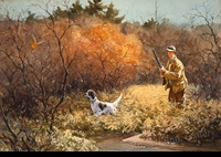RIPLEY:  WOODCOCK HUNTING</a><br><b>- SOLD</b>