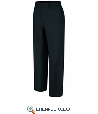 WP70BK Wrangler Plain Front Black Work Pant