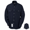 SLU2NV EXCEL- FR™ COMFORTOUCH™ Navy Dress Uniform Shirt