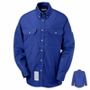 SLU2RB EXCEL- FR COMFORTOUCH Royal Blue Dress Uniform Shirt
