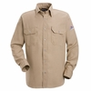 SNS2TN Tan Snap-Front Uniform Shirt-Nomex® IIIA-4.5 oz.