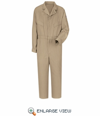 CMD4KH Bulwark Khaki Deluxe CoolTouch® II Coverall