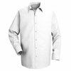 SP16WH Long Sleeve Men's White Specialized Pocketless Shirt