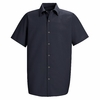 SP26NV Men's Navy Short Sleeve Specialized Pocketless Shirt