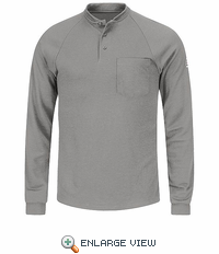 SML2GY Flame Resistant Long Sleeve Grey Henley Shirt- CoolTouch� /></a><br /> <!--Solid Cactus Click to enlarge v3.0.2--> <div id=