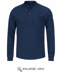 SML2NV Flame Resistant Long Sleeve Navy Henley Shirt- CoolTouch� /></a><br /> <!--Solid Cactus Click to enlarge v3.0.2--> <div id=