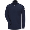 SEK2 EXCEL- FR Long Sleeve Navy Mock Turtle Neck
