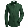 1T11EM Women's Emerald Long Sleeve Meridian Preformance Twill Shirt